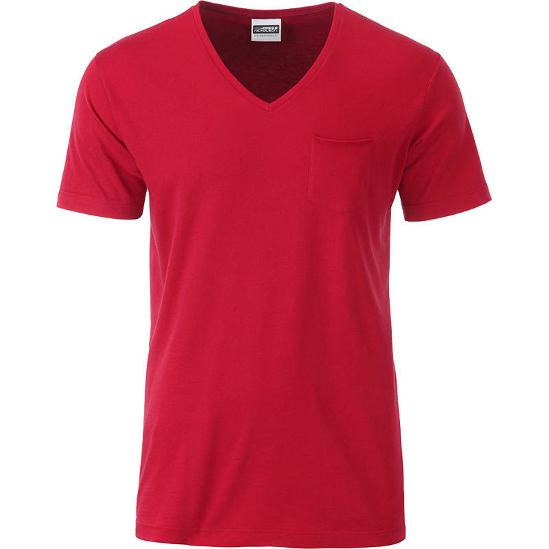 Qyroo | Tee Shirt publicitaire pour homme Rouge