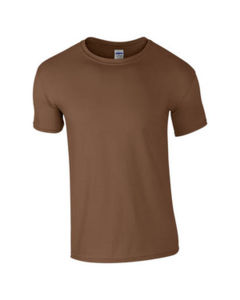 marron - t shirt gildan eco