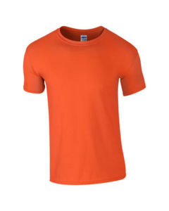 orange - t shirt gildan eco