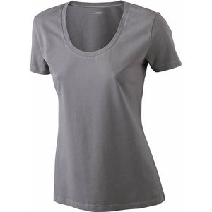 anthracite - t shirt publicitaire extensible