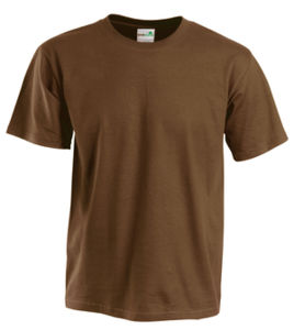 marron - t-shirt publicitaire