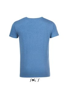 Tee-shirt à personnaliser : Mixed Men bleu chine - Vue n° 2