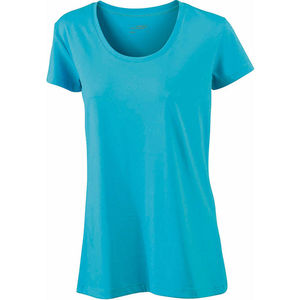 turquoise - tee shirt imprime femme