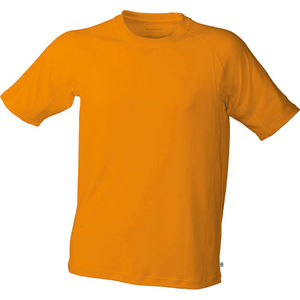 orange - tee shirt marquage logos