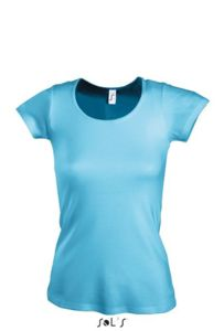 turquoise - Tee-shirt personnalisable : Moody