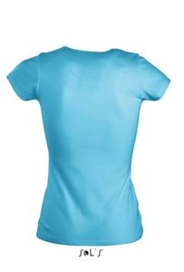 Tee-shirt personnalisable : Moody turquoise - Vue n° 2