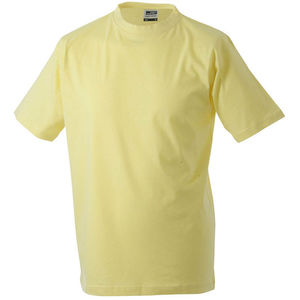 jaune clair - tee shirts impression logo
