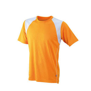 orange-blanc - tee shirts logo entreprise