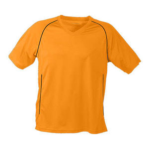 orange - tee shirts marquage logo