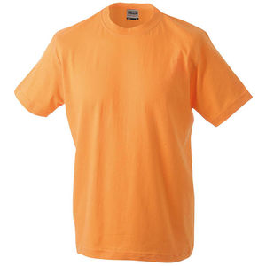 orange - tshirt marquage logos